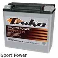 Мото аккумулятор Deka ETX9 AGM (YTX9-BS)