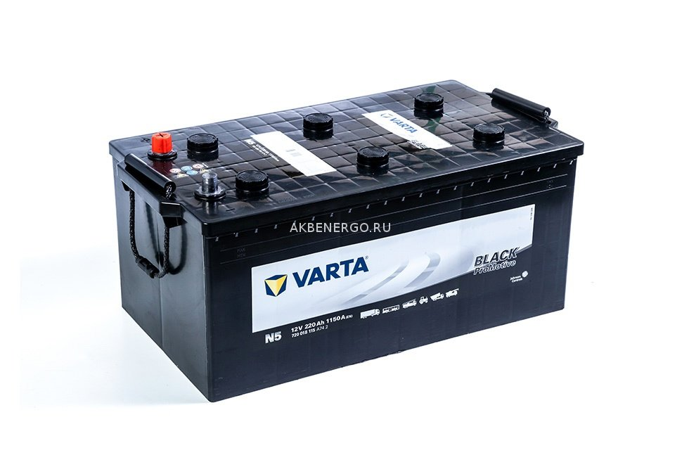 Аккумулятор Varta N5 PROmotive Black