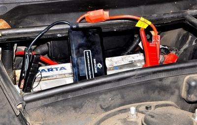 Быстрая зарядка аккумулятора автомобиля зарядным устройством