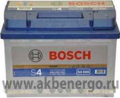 Автомобильный аккумулятор Bosch S4 008 Silver 12В 74Ач