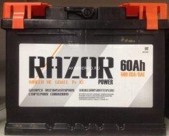 Автомобильный аккумулятор Razor 60.0 12В 60Ач