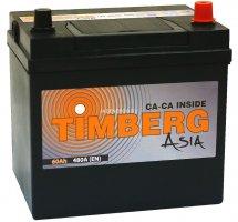 Автомобильный аккумулятор TIMBERG ASIA 60.0 12В 60Ач