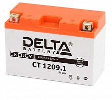 Аккумулятор мото Delta CT 1209.1 (YT9B-BS)