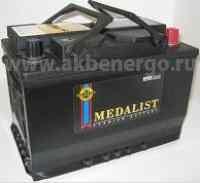 Автомобильный аккумулятор Medalist 57412 12В 74Ач