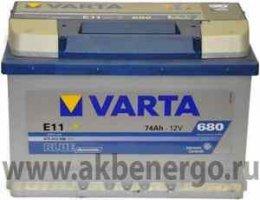 Автомобильный аккумулятор Varta Blue Dynamic E11 12В 74Ач