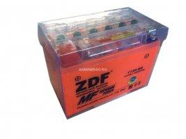 Аккумулятор мото ZDF 1209 GEL (YTX9-BS)