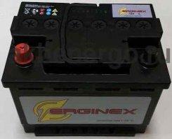 Автомобильный аккумулятор Erginex 55.1 12В 55Ач