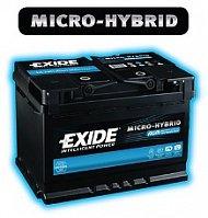 Автомобильный аккумулятор Exide EK700 AGM 12В 70Ач
