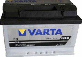 Автомобильный аккумулятор Varta Black Dynamic Е9 12В 70Ач