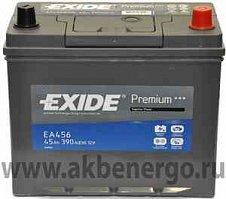 Автомобильный аккумулятор Exide Premium EA456 12В 45Ач
