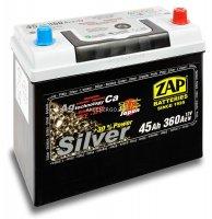 Автомобильный аккумулятор Zap Silver 545 70 12В 45Ач
