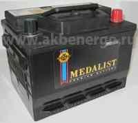 Автомобильный аккумулятор Medalist 56030 12В 60Ач