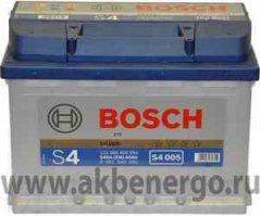 Автомобильный аккумулятор Bosch S4 005 Silver 12В 60Ач