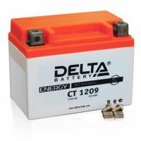 Мото аккумулятор Delta CT1209 AGM (YTX9-BS, YTX9)