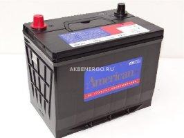 Автомобильный аккумулятор American 90D26L 12В 80Ач