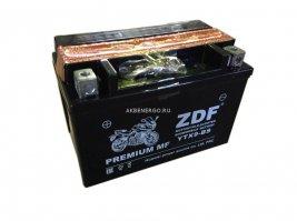 Аккумулятор мото ZDF 1209 (YTX9-BS)