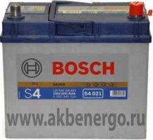 Автомобильный аккумулятор Bosch S4 021 Silver 12В 45Ач
