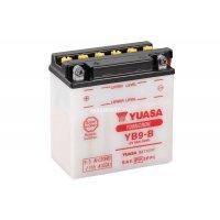 Аккумулятор YUASA YB9-B с электролитом