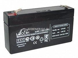 Аккумуляторы Leoch DJW 6-1,3