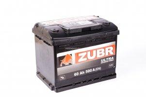 Автомобильный аккумулятор ZUBR ULTRA 60.1 12В 60Ач