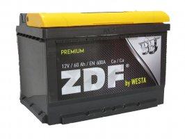 Автомобильный аккумулятор ZDF Premium 60.1 12В 60Ач
