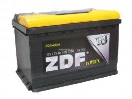 Автомобильный аккумулятор ZDF Premium 74.0 12В 74Ач