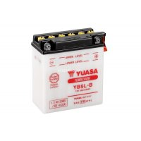 Аккумулятор YUASA YB5L-B с электролитом