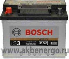 Автомобильный аккумулятор Bosch S3 006 12В 56Ач