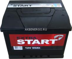 Автомобильный аккумулятор Extra Start 55.0 12В 55Ач