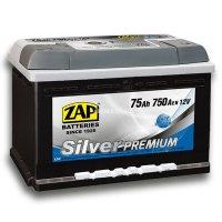 Автомобильный аккумулятор Zap Silver Premium 575 45 12В 75Ач