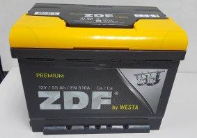 Автомобильный аккумулятор ZDF Premium 55.0 12В 55Ач
