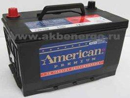 Автомобильный аккумулятор American 75D23L 12В 65Ач