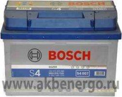 Автомобильный аккумулятор Bosch S4 007 Silver 12В 72Ач