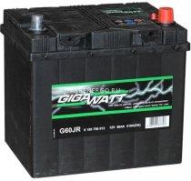 Автомобильный аккумулятор GigaWatt G60JR 12В 60Ач