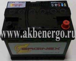 Автомобильный аккумулятор Erginex 60.0 12В 60Ач