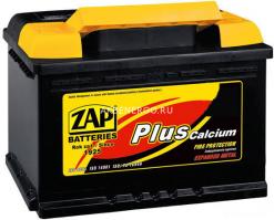 Автомобильный аккумулятор Zap Plus 560 95 12В 60Ач