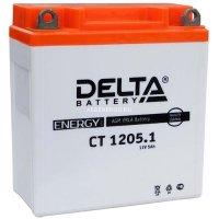 Аккумулятор мото Delta CT1205.1 AGM (YB5L-B, 12NS-3B)