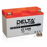 Мотоаккумулятор мото Delta CT1208 AGM (YT7B-BS, YT7B-4, YT9B-BS)