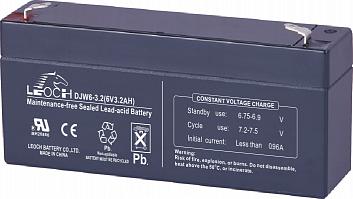 Аккумуляторы Leoch DJW 6-3,2