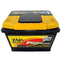 Автомобильный аккумулятор Zap Plus 560 59 12В 60Ач