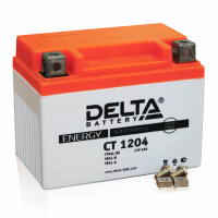 Мотоаккумулятор мото Delta CT1204 AGM (YB4L-B, YB4L-A, YTX4L-BS)