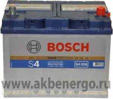 Автомобильный аккумулятор Bosch S4 026 Silver 12В 70Ач