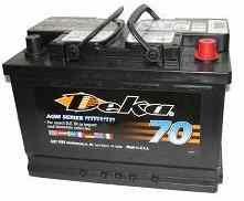 Автомобильный аккумулятор Deka 9AGM48 12В 74Ач